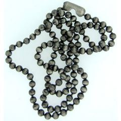 3.2mm Silver Oxide Ball Chain
