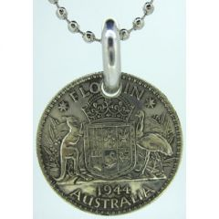 Australian Florin Coin Pendant