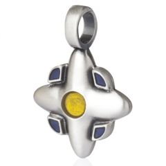 Evening Flower Pendant - perspective view