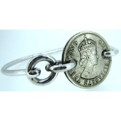 Hong Kong Dollar Coin Bangle