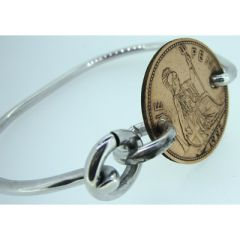 One Penny Coin Bangle