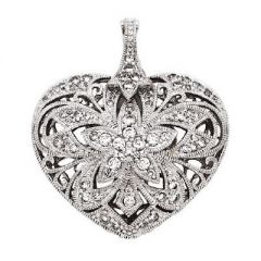 Stunning Heart Enhancer Pendant