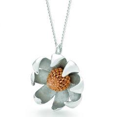 Waratah Flower Pendant