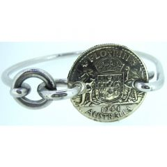 Australian Florin Coin Bangle