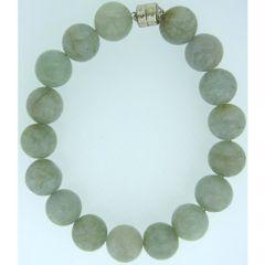 Jade Stone Beaded Bracelet