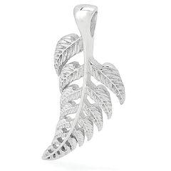 Silver Fern Leaf Pendant