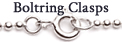 Boltring or Spring Ring Clasps
