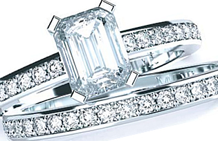 Matching Wedding and Engagement Rings