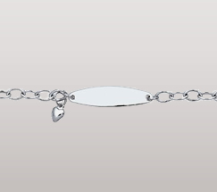 Cable Chain ID Bracelet